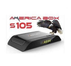 RECEPTOR AMERICA BOX S105 IPTV WiFi COM CHIP 2.65