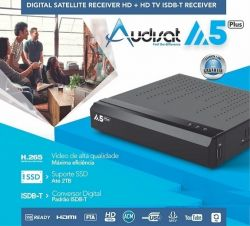 RECEPTOR AUDISAT A5 IPTV  FULL HD
