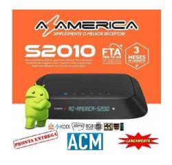 RECEPTOR AZAMERICA S2010 3D ACM 4K ANDROID IPTV 8GB