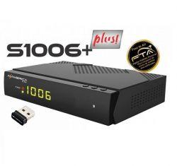 RECEPTOR FTA AZAMERICA S1006 PLUS ACM IPTV