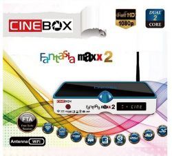 CINEBOX FANTASIA MAXX 2 DUAL CORE IPTV 3D