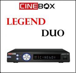 RECEPTOR CINEBOX FANTASIA LEGEND DUO 3D LED IPTV