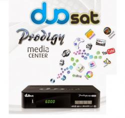 RECEPTOR DUOSAT PRODIGY NANO 3D GOOGLE YOUTUBE IPTV