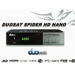 RECEPTOR DUOSAT SPIDER NANO HD PARA TV A CABO