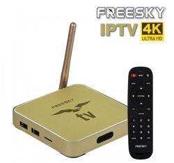RECEPTOR FREESKY OTT STREAM 4K ULTRA IPTV SEM ANTENAS