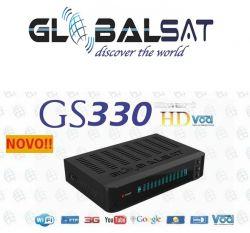 RECEPTOR GLOBALSAT GS 330 IPTV VOD HD