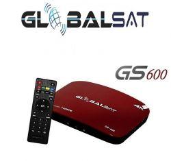 Receptor Globalsat Gs600 4K Não Precisa de Antenas