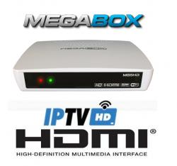 RECEPTOR MEGABOX MG5 PLUS FULL HD IPTV HDMI