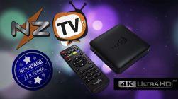 Receptor Nazabox Nz Tv 2000 Canais Só Precisa de internet Sem Antenas