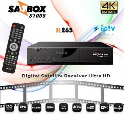 RECEPTOR SATBOX S1009 4K ULTRA HD IPTV