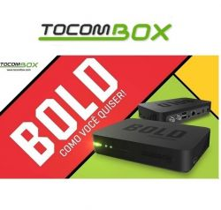 RECEPTOR TOCOMBOX BOLD IPTV 3D WIFI ANDROID