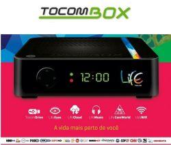 RECEPTOR TOCOMBOX LIFE WIFI FULL HD IPTV USB