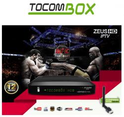 RECEPTOR TOCOMBOX ZEUS WIFI 3G YOUTUBE