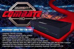 RECEPTOR TOCOMSAT COMBATE IPTV YOUTUBE