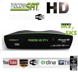 RECEPTOR TOCOMSAT PHOENIX  YOUTUBE IPTV
