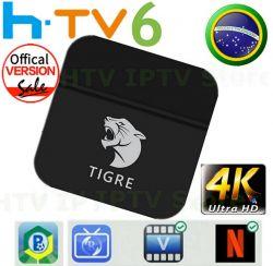 RECEPTOR TV BOX TIGRE IPTV SEM ANTENAS