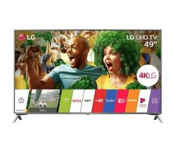 "SMART TV LG LED 49"" ULTRA 4K HD 49UJ6525 COM CONVERSOR DIGITAL 4HDMI 2USB"