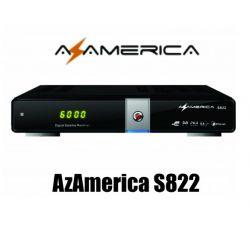 RECEPTOR AZ AMÉRICA S822  DOIS TUNNER  SKS E IKS
