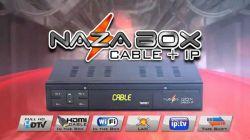 RECEPTOR NAZABOX CABLE IP IPTV