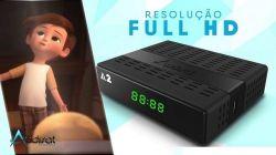 RECEPTOR AUDISAT A2 FTA WIFI ACM H265